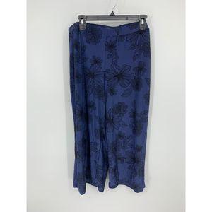 Gilligan & o'malley XXL blue black pajama panys